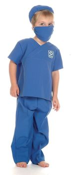 Doctor/Medic Role Play Fancy Dress Costume - 3-5 years - Per Set