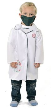 Doctor Role Play Fancy Dress Costume - 3-5 years - Per Set