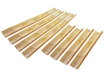 Bamboo Channelling - 4 x 1 metre & 4 x 0.5 metre - Pack of 8
