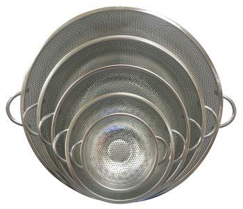 Metal Colanders - Assorted - 16 - 40cm - Pack of 5