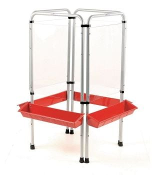 4 Sided Easy Clean Early Years Easel - 125 x 59cm - Each