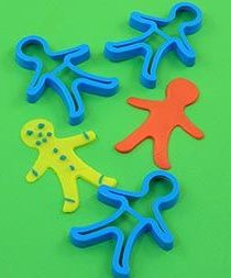 Gingerbread Men Cutters - Approx 8cm - AP/082/GC - Pack of 3