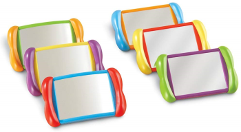 All About Me Unbreakable Mirrors - Assorted - 150 x 100mm - HE1581572 - Pack of 6