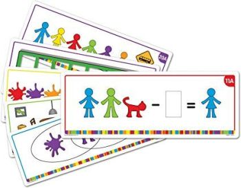 All About Me Family Counters Activity Cards - 29 x 11cm - HE1571301 - Pack of 21