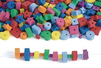 Jumbo Foam Beads - Assorted - HE1499750 - Pack of 500