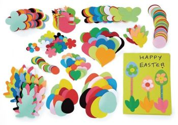Easter Paper Shapes - Assorted - HE1499311 - Pack of 400