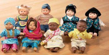 Oriental Boy World Children Soft Bodied Doll - 36cm - HE306143 - Each