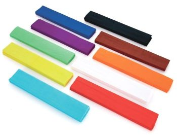 Crepe Paper Folds - Assorted - 500mm x 1.5m - HE101328 - Pack of 50