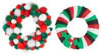 Polystyrene Wreath Celebration Rings - 19cm - HE1661395 - Pack of 10