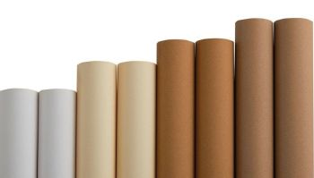 Classmates Naturals Wide Poster Paper Pack - Assorted - 1020mm x 10m - HE1563962 - Pack of 8