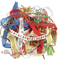 Festival Ribbons - Assorted - 100g Bag - HE1299275 - Each