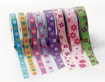 Flower Ribbons Sets - Assorted - HE1317256 - Pack of 8
