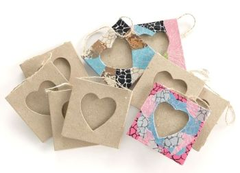 Decopatch Heart Frames - 8 x 8cm - HE1326585 - Pack of 10