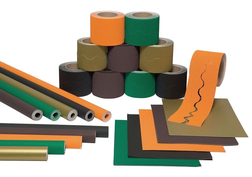 Educraft Woodland Wall Display Pack - HE1500961 - Per Pack