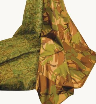 Camouflage Fabric - Assorted - 2 x 2m - HE254650 - Pack of 2