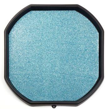 Blue Glitter Play Tray Mat - Diameter 880mm - HE1816906 - Each