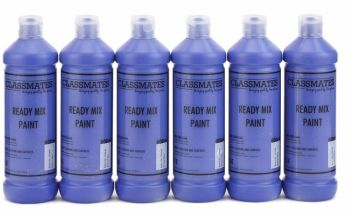 Classmates Brilliant Blue Ready Mixed Paint - 600ml - HE42984 - Pack of 6