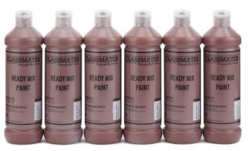 Classmates Burnt Sienna Ready Mixed Paint - 600ml - HE42997 - Pack of 6