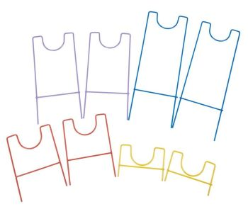 Channelling Wire Frame Stand - Straight - HE48839037 - Pack of 8