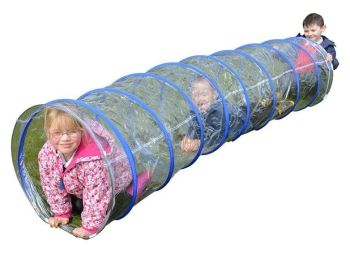 Clear Indoor/Outdoor Tunnel - 2.7m - HE1366886 - Each