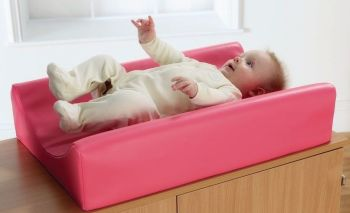Pink Baby Safe Changing Mat - 70 x 46 x 15m - HE291596 - Each