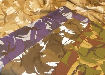 Camouflage Fabric - Arctic - 2 x 1.5m - HE1001704 - Each