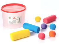 Colour Mixing Soft Dough - Assorted - HE1201647 - 1.8kg Tub - Each
