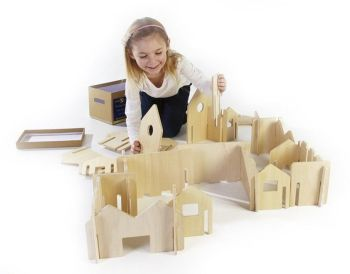 Happy Architect Create And Play - Assorted - HE1240487 - Pack of 28