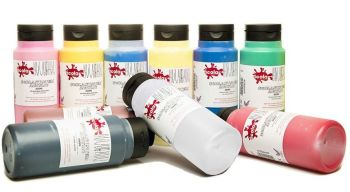 Scola System Acrylic Paint - Assorted - 500ml - HE1672648 - Pack of 10