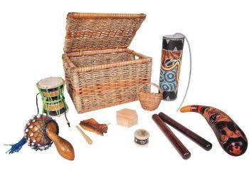 Multicultural Instrument Basket - Assorted - HE1559457 - Per Set