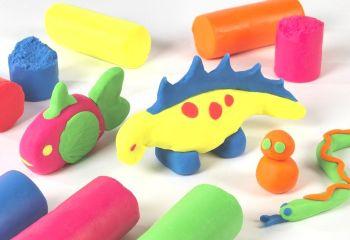 Fluorescent Soft Dough - Assorted - 6 x 150g - HE1671953 - Pack of 6