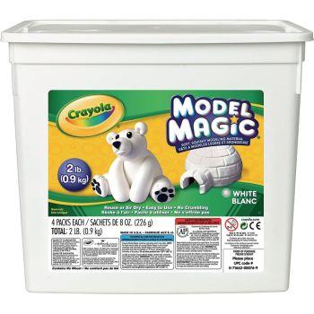 Crayola Model Magic White - HE213089 - 900g Bucket - Each