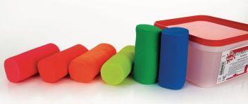 Fluorescent Soft Dough - Assorted - 6 x 300g - HE1500456 - Pack of 6