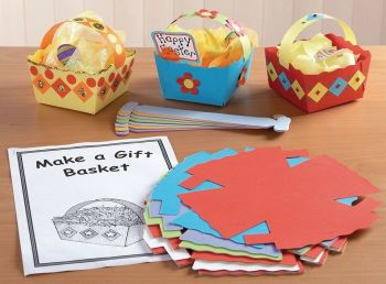 Make an Easter Basket Kits - 210 x 170mm - HE137078 - Pack of 30