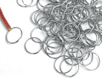 Metal Split Key Rings - 25mm - HE1499756 - Pack of 144