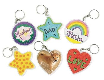 Create Your Own Key Chains - HE179055 - Pack of 12