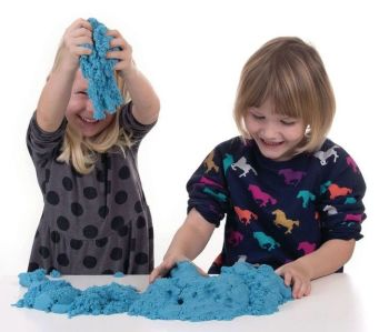 Blue Kinetic Sand - HE1553864 - 2.27kg - Each
