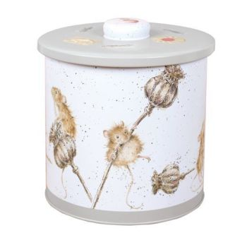 Wrendale Biscuit Barrel- Country Mice