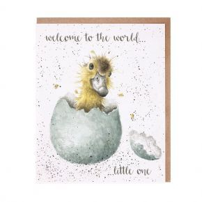 Wrendale New Baby Card- Little One