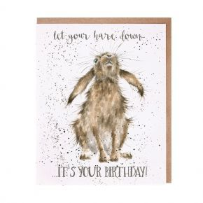 Wrendale Birthday Card- Go Wild