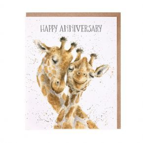 Wrendale Anniversary Card-  Be-Long Together