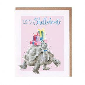 Wrendale Birthday Card- Shellebrate