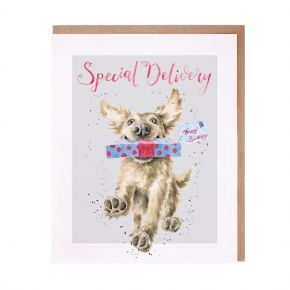 Wrendale Birthday Card- Special Delivery