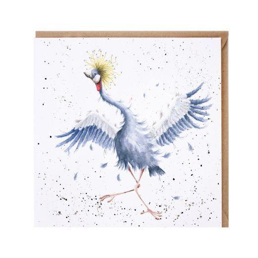 Wrendale Card- 'Dancing Queen'