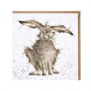 Wrendale Card- Hare Brained