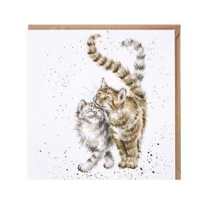 Wrendale Card- Feline Good