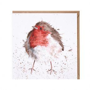 Wrendale Card- The Jolly Robin