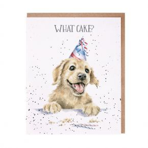 Wrendale Card- What Cake?