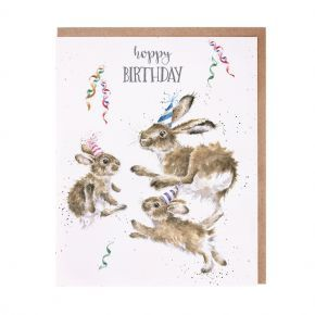 Wrendale Birthday Card- Hoppy Birthday