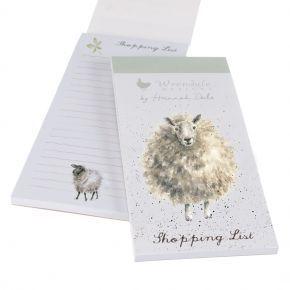 Wrendale Shopping Pad- Sheep